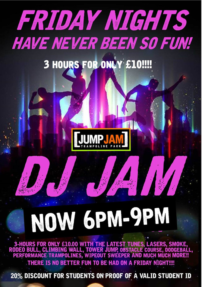 DJ Jam - 3 hours for only £10
