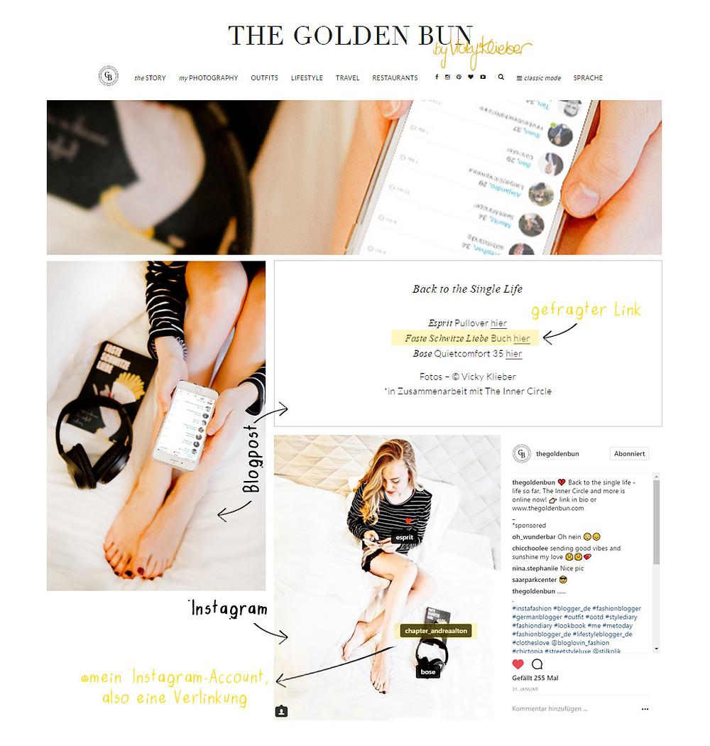 Beispiel Crossmedia-Kampagne mit The Golden Bun; Andrea Alton, PR-Coach - PR selber machen