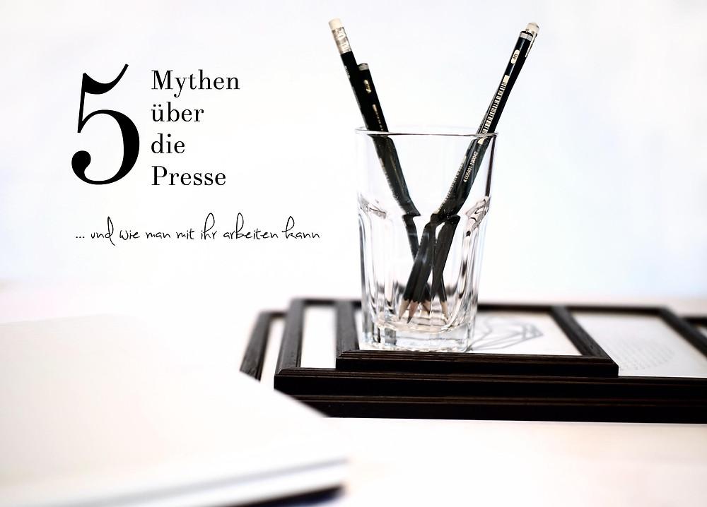 Mythen über Presse und Journalismus; Work Space; Work Place; Andrea Alton, PR-Coach - PR selber machen