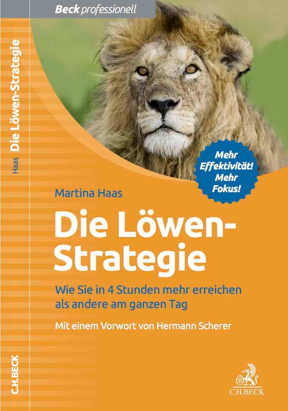 Buch die Löwenstrategie Martina Haas