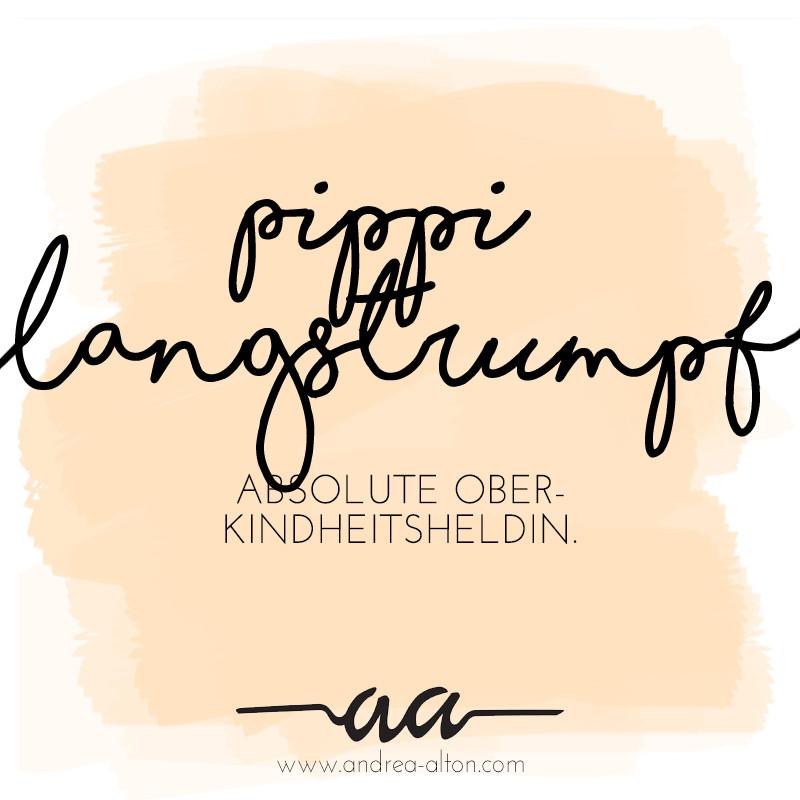 Kindheitsheldin Andrea Alton - Pippi Langstrumpf. PR-Coach und PR selbermachen