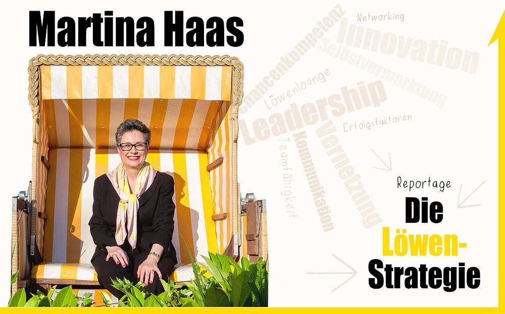 Martina Haas, neues Buch, Die Löwen-Strategie; Andrea Alton, PR-Coach - PR selber machen