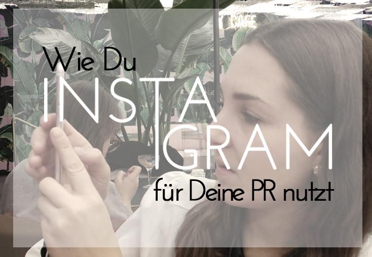 Instagram für PR zum Selbermachen; PC-Coach