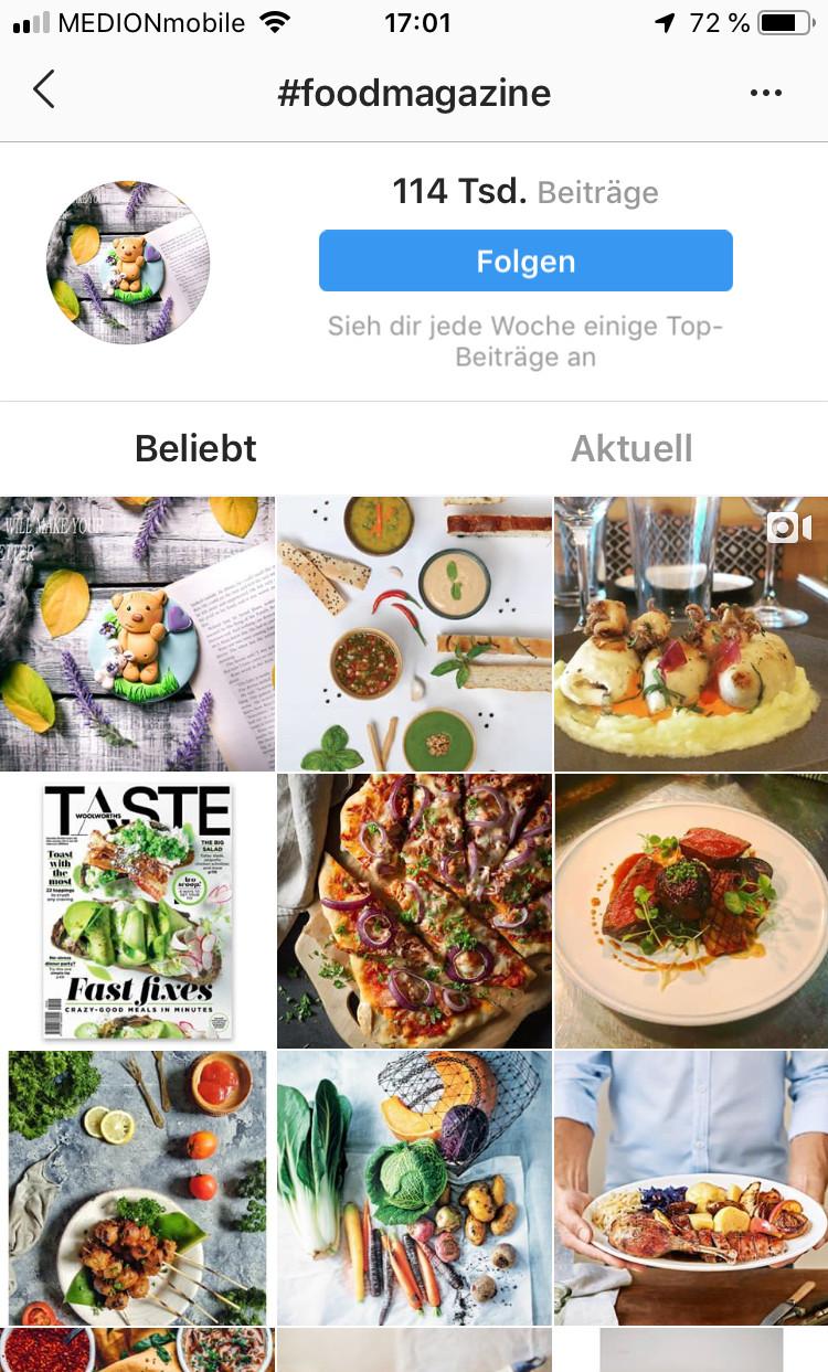 Hashtag Suche Instagram für PR zum Selbermachen