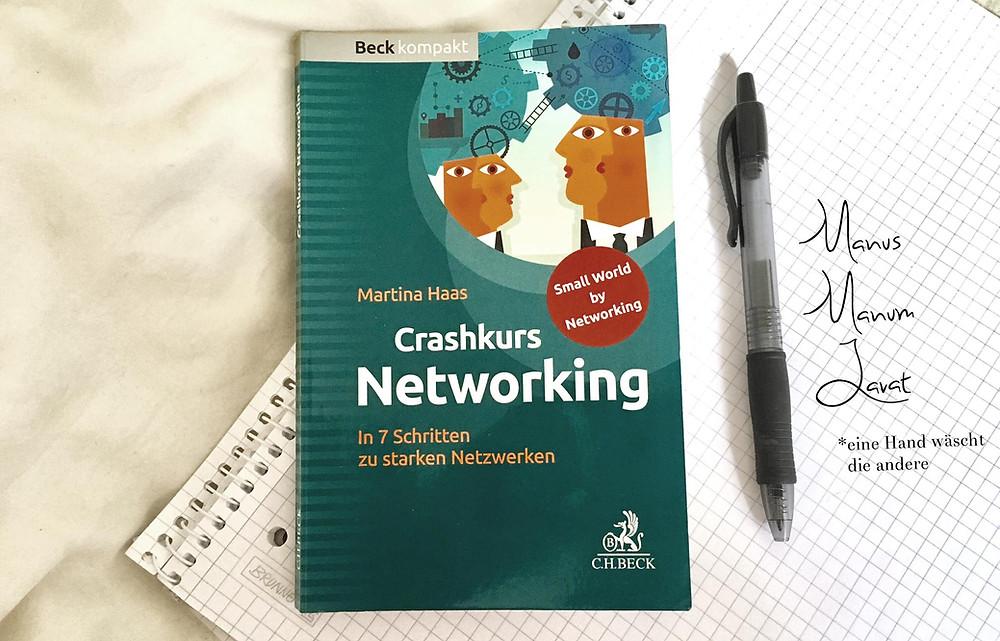 Buch Crashkurs Networking von Martina Haas: Eine Hand wäscht die andere; Andrea Alton, PR-Coach - PR selber machen