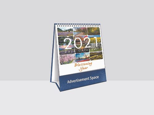 TC8764 Blossoming Year Desk Calendar