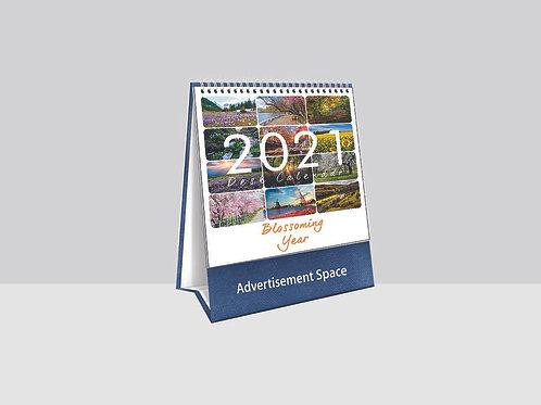 TC8764 Blossoming Year Desk Calendar