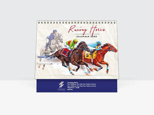 TC8767 Racing Horse Calendar