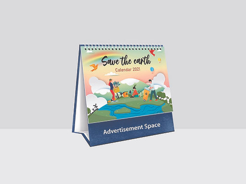 TC8761 Save the Earth Desk Calendar