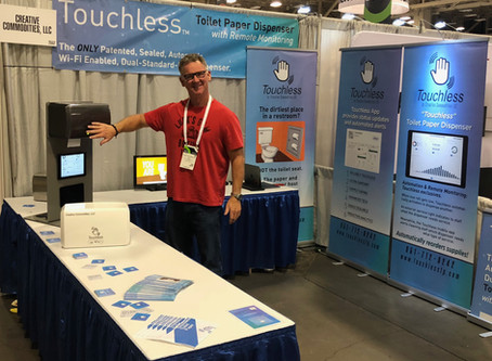 Touchless at ISSA 2018 — Riding a wave of innovation and excitement
