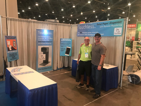 Touchless TP: an innovative hit at ISSA