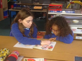 SHared reading with year 6 and 2