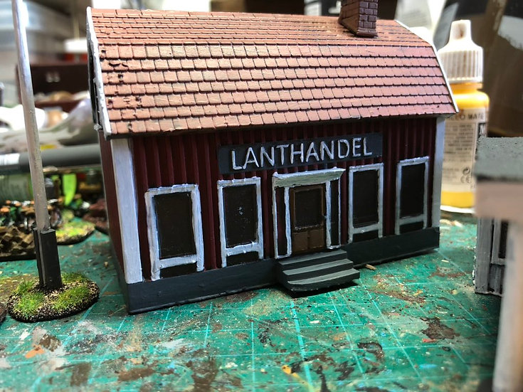 15mm Swedish Lanthandel Store