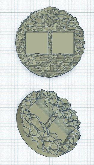 Double Micro Dice Holder x10 (1p)