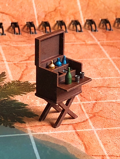 28mm Campaign Drinks Cabinet