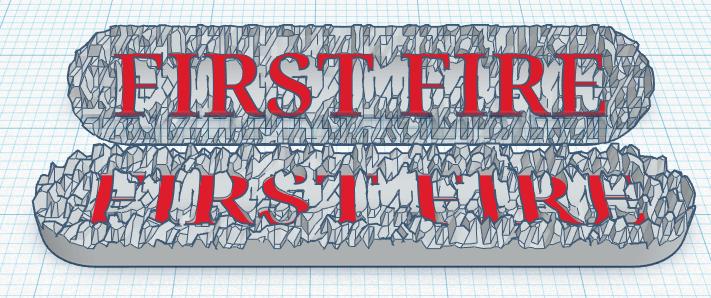 First Fire Marker Set