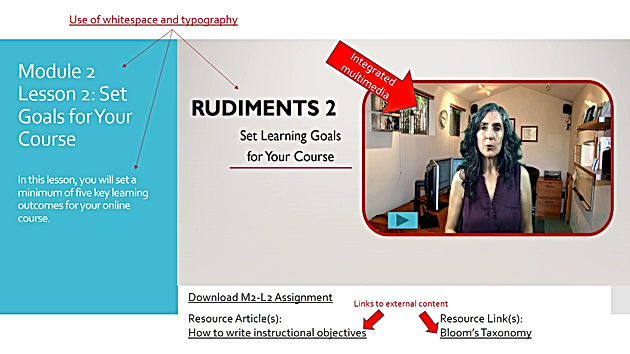5 Tips to Rock the Learner Experience in Your Online Course – Part 2: The Course Visual Experience