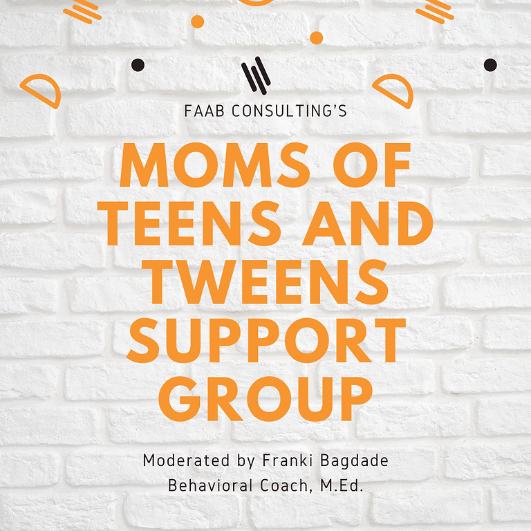 Moms of Teens and Tweens Support Group VIRTUAL