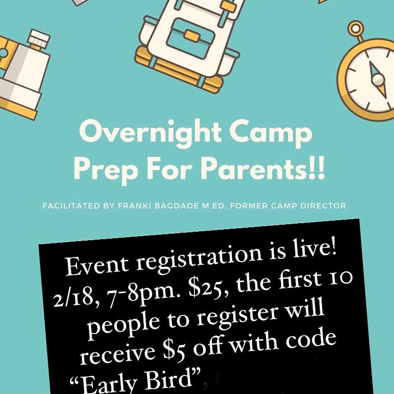 Overnight Prep for Parents!