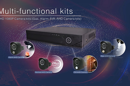4 Channel DVR Kit  4x Bullet camera