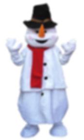 Le Bonhomme de Neige muni de son écharpe et de son chapeau vient égayer vos journées hivernales. Les enfants aiment le voir déambuler car il présage l'arrivée de bataille de boules de neige