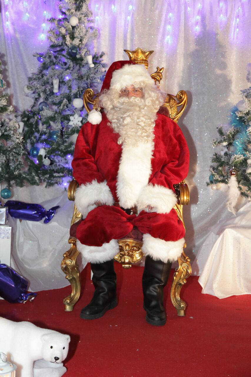 """Le """"vrai"""" Père Noël de Jumpy's Party"""
