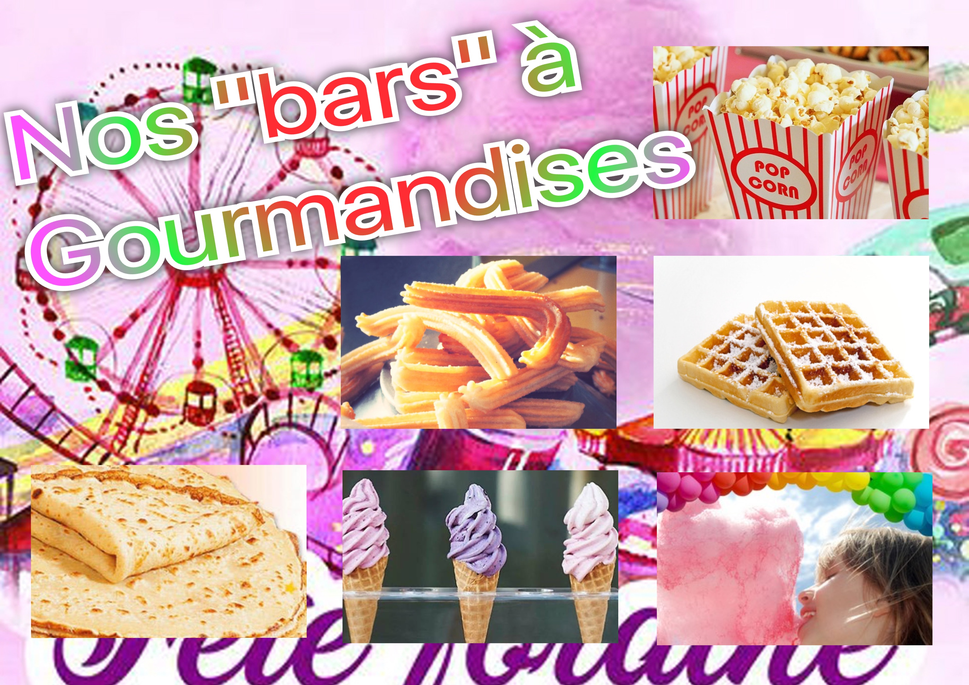 Nos bars gourmands
