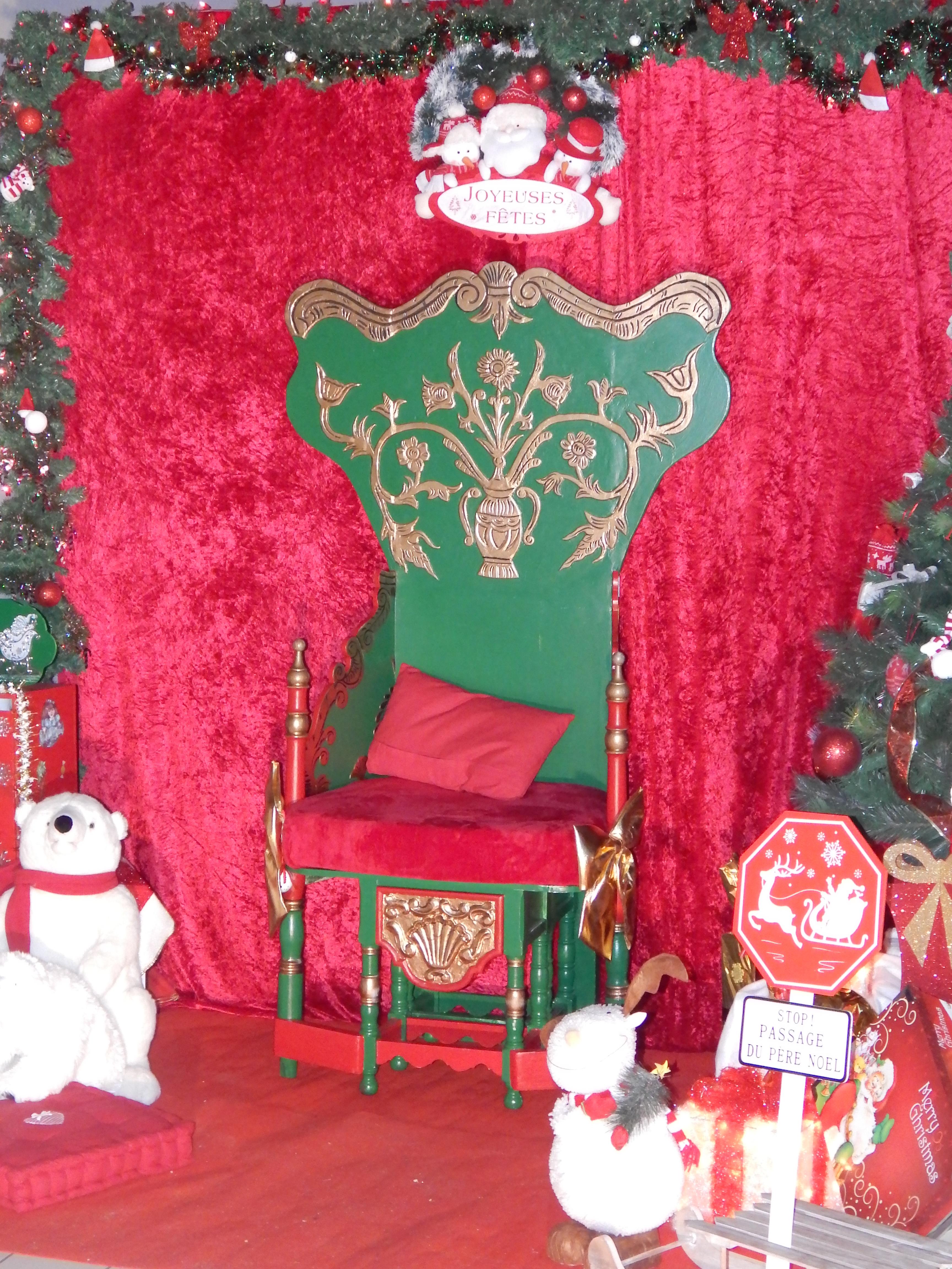 Décor du Père Noël