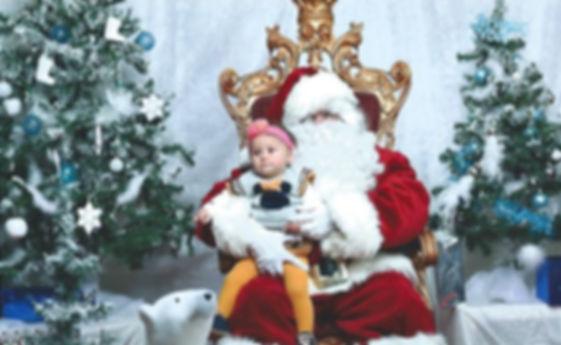 Le VRAI Père Noël et Moana chez Jumpy's Party