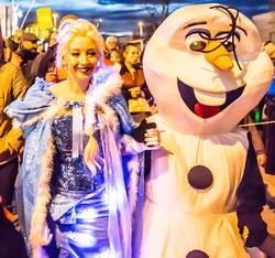 Olaf et Elsa