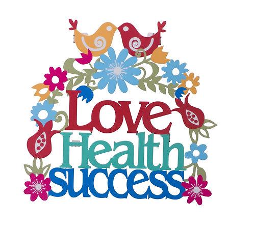 אהבה בריאות הצלחה - אנגלית