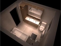 Salle de bain - Bourré