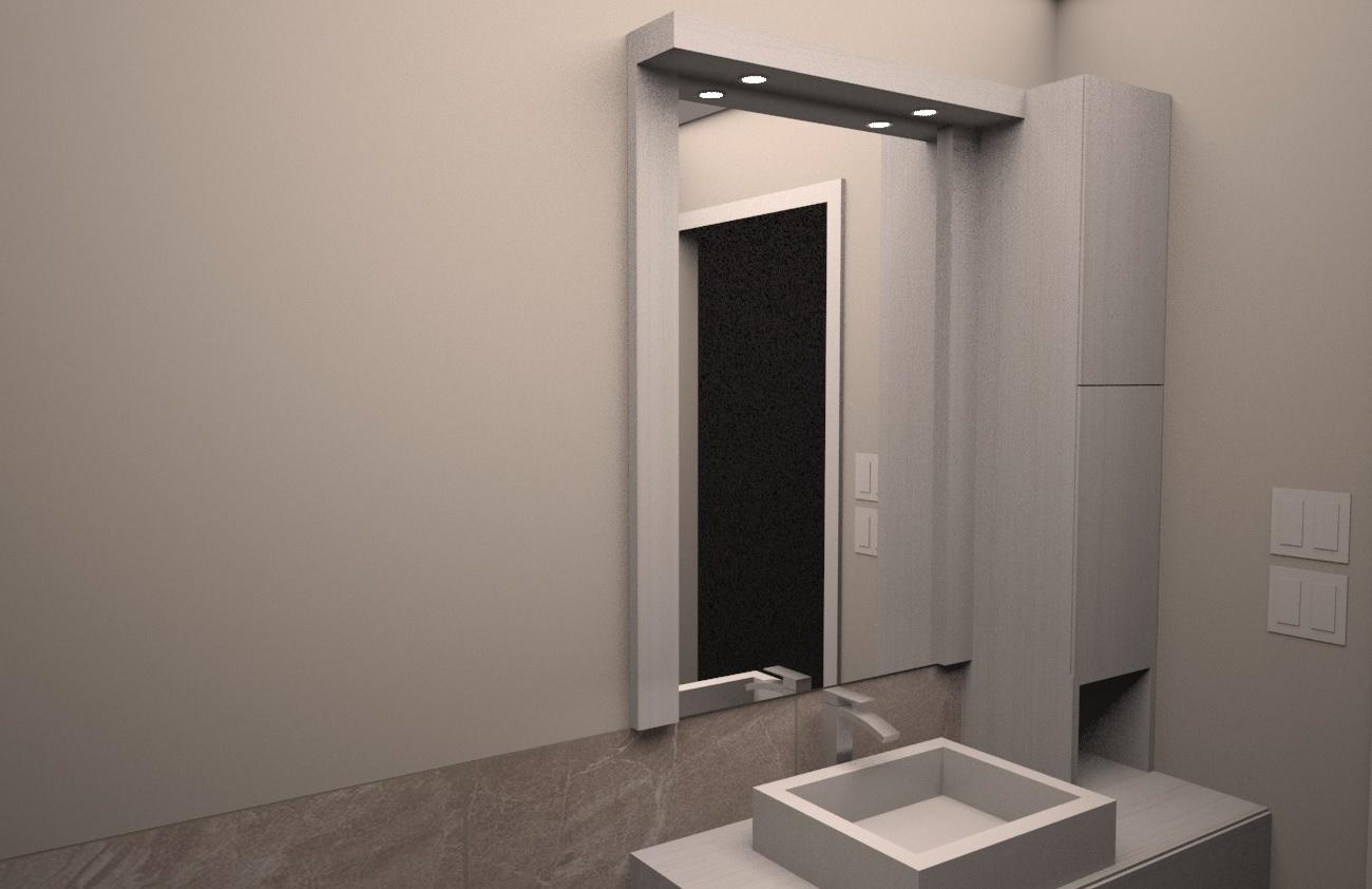Salle de bain - Poulette