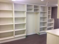 Meuble bibliothèque sur-mesure