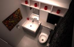 Salle d'eau - Bourré