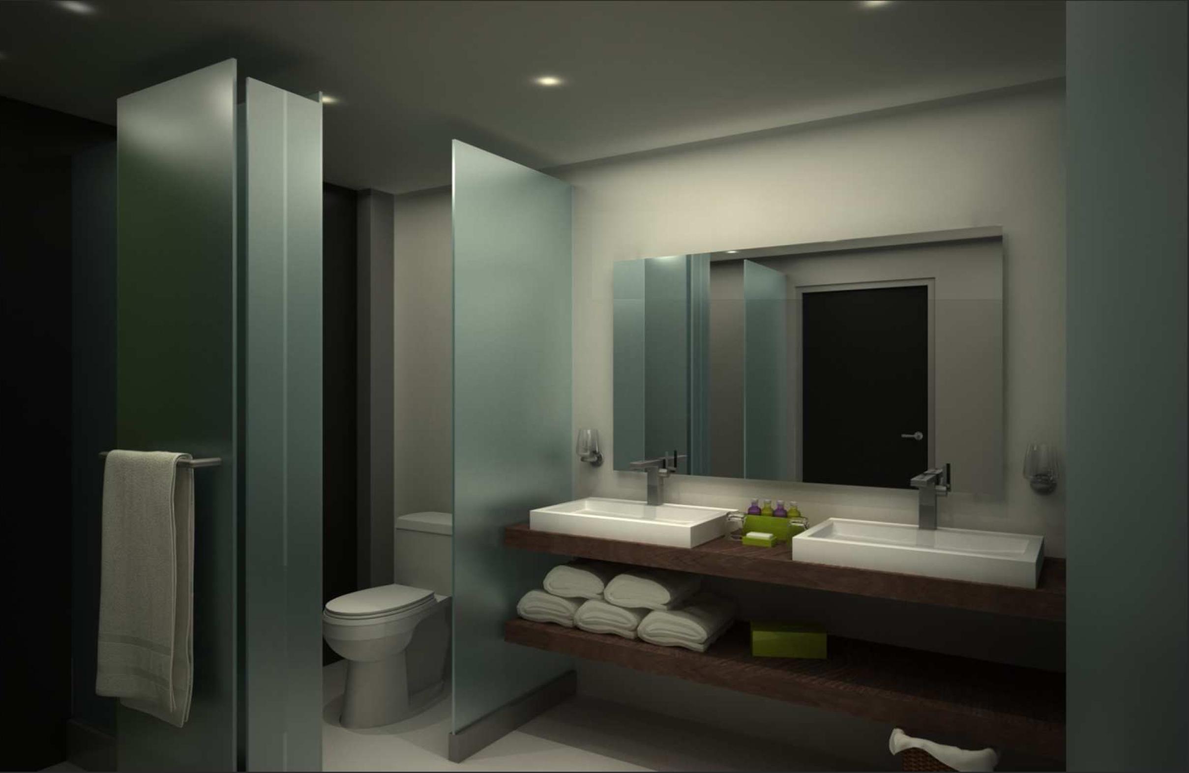 Salle de bain suite - type B