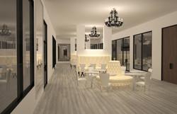 Vue espace lounge