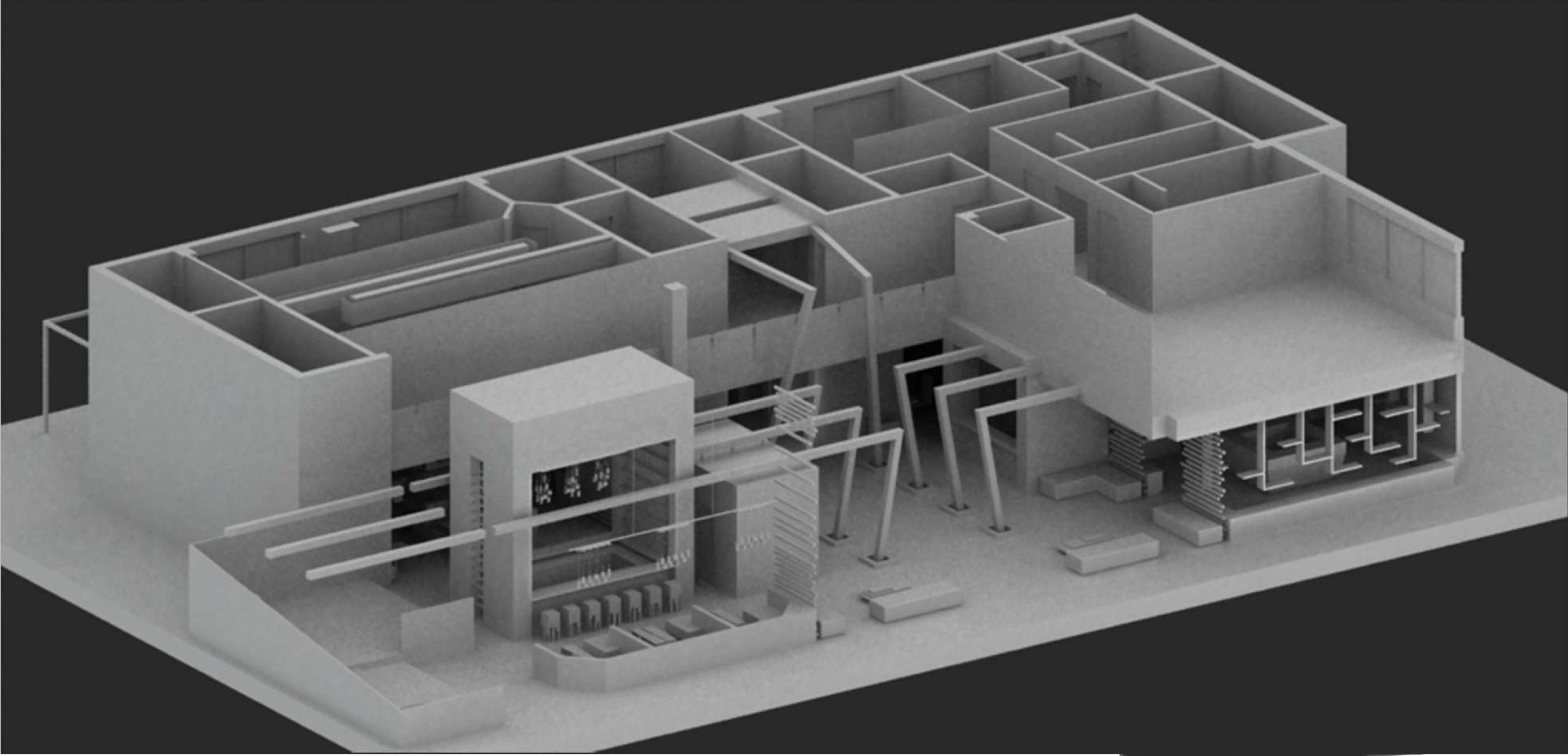Axonométrie RDC