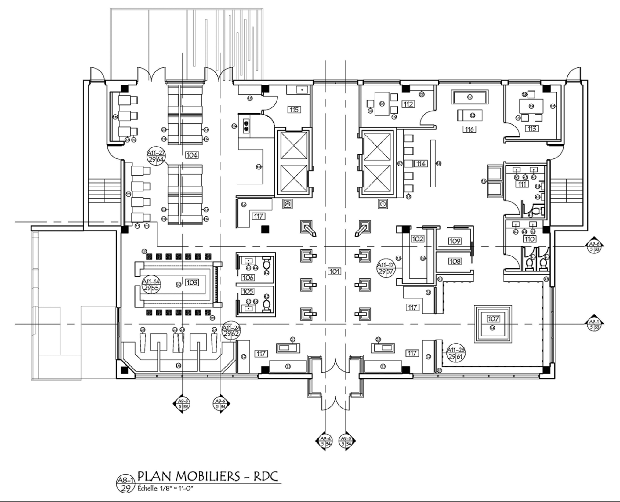 Plan amenagement RDC