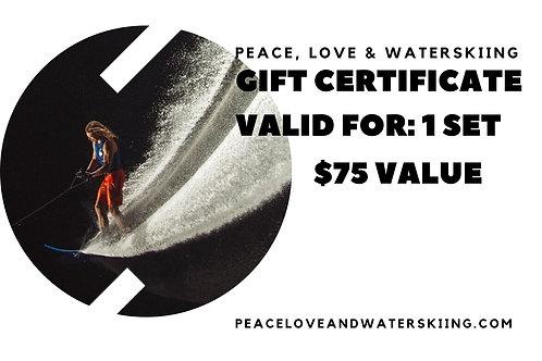 Ski Lesson Gift Certificate