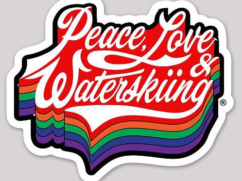 PLW Retro Logo Sticker