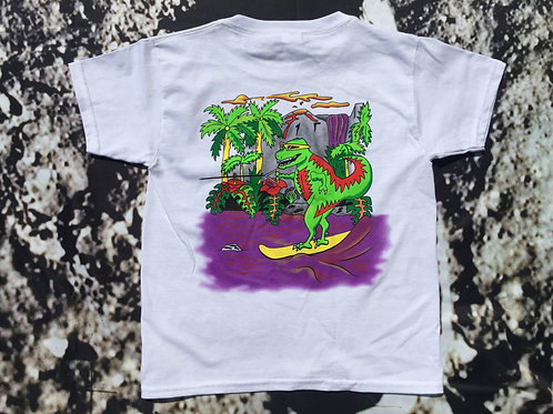 Youth Skiing T-Rex T