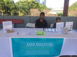 AHAM community booth 2016