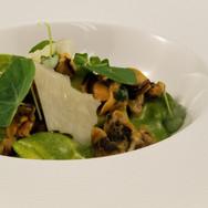 Mussel & Nasturtium Orchiette
