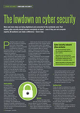 lowdown cyber security awareness learning download