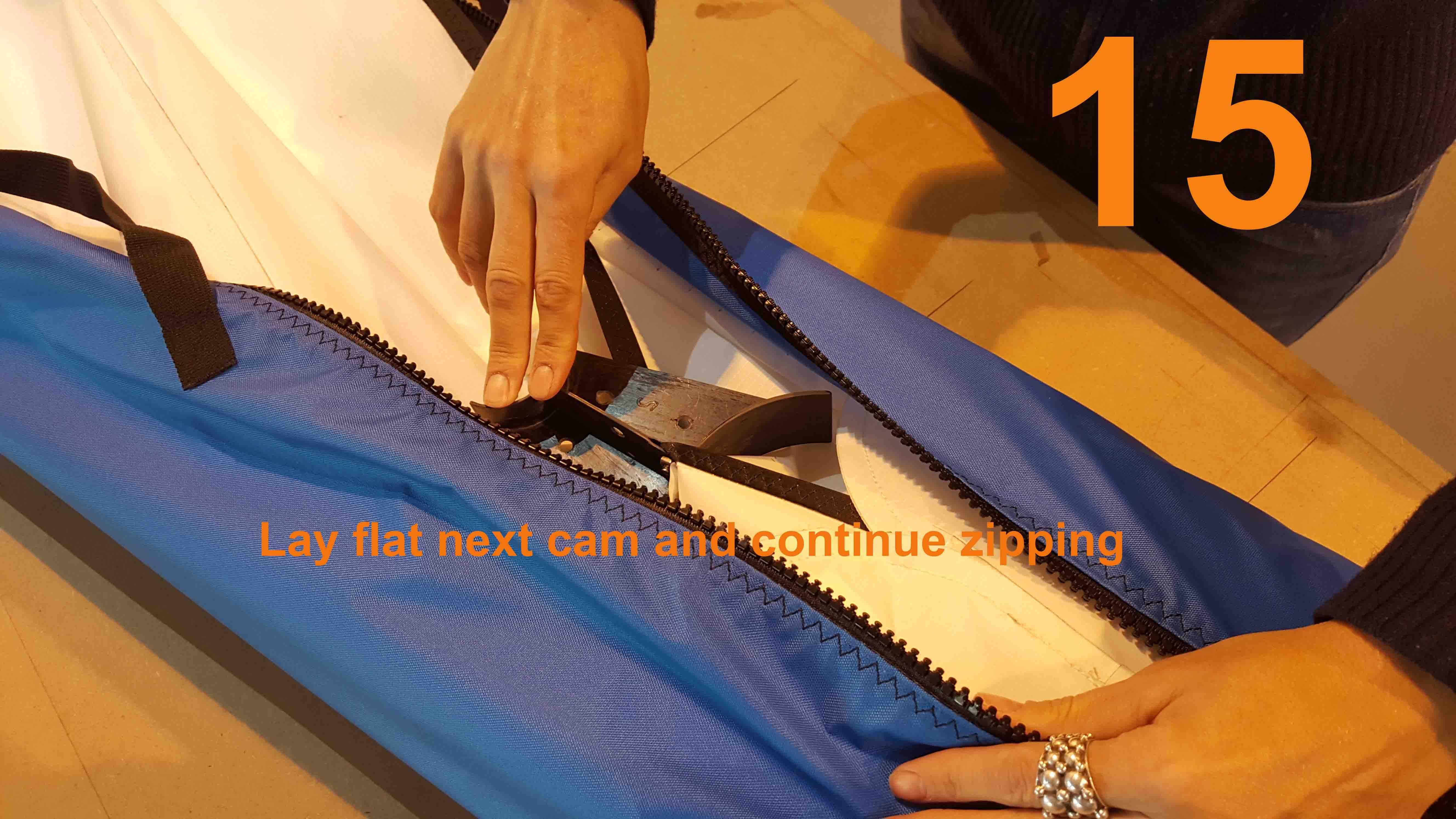 15 lay flat next cam