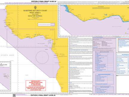 New West Africa Voluntary Reporting Area and UKHO Chart Q6144