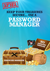 Phish and Ships Poster Password Manager.