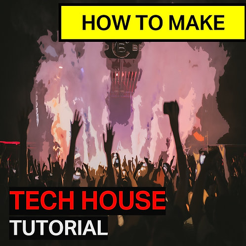 Tech house tutorial | Ableton Project File, Presets and Samples