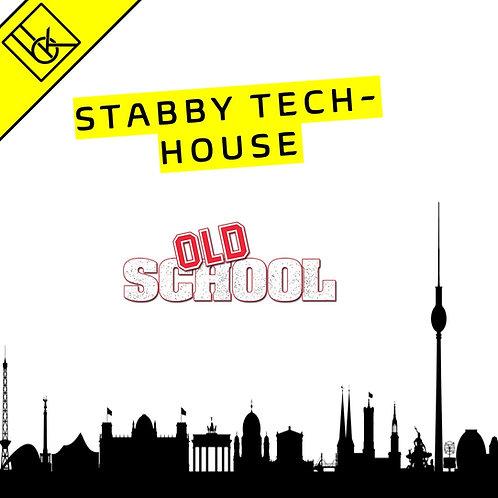 Oldschool chord stab tech house track